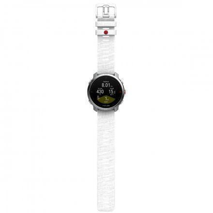 Polar GRIT X Biały zegarek sportowy z GPS i pulsometrem S/M
