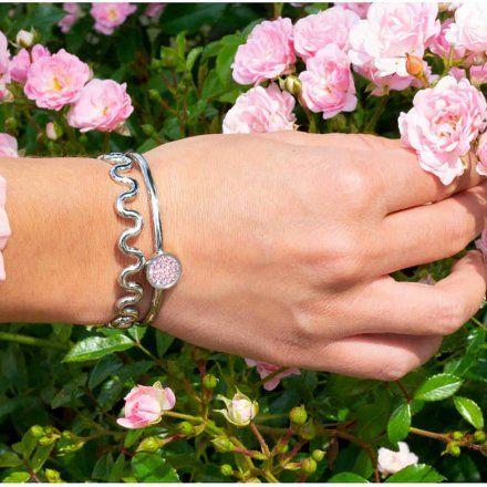 Element wymienny Meddy Melano Vivid VM19 Płaski Różowe złoto Blossom