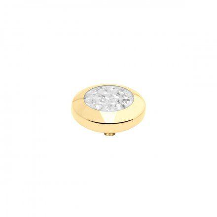 Element wymienny Meddy Melano Vivid M01SR Multicyrkonie Złoty Crystal