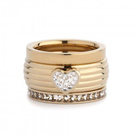 Element wymienny Meddy Melano Vivid M01SR Serce Złoty Crystal