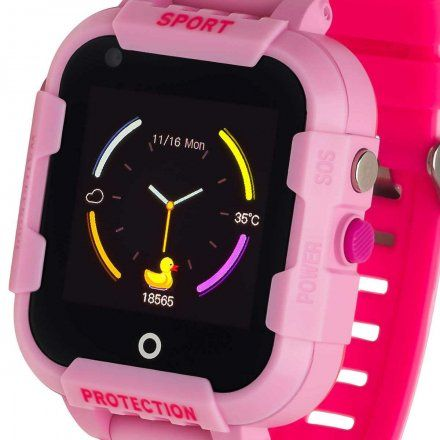 Smartwatch Garett Kids Star 4G RT Różowy