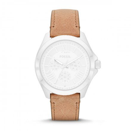 Beżowy pasek Fossil 20 mm Cecile AM4532