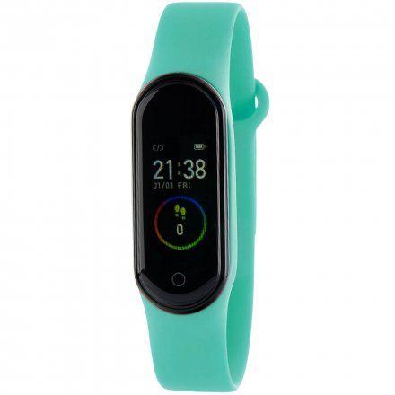 Błękitna opaska sportowa Smartband Marea B57006/4