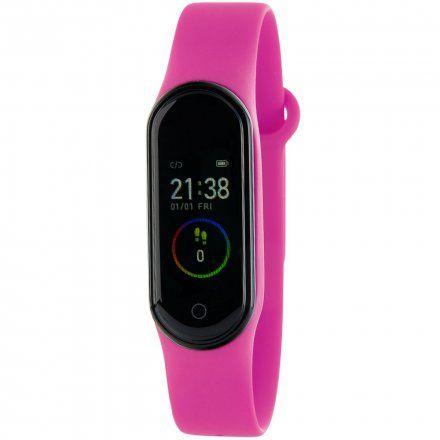 Różowa opaska sportowa Smartband Marea B57006/6