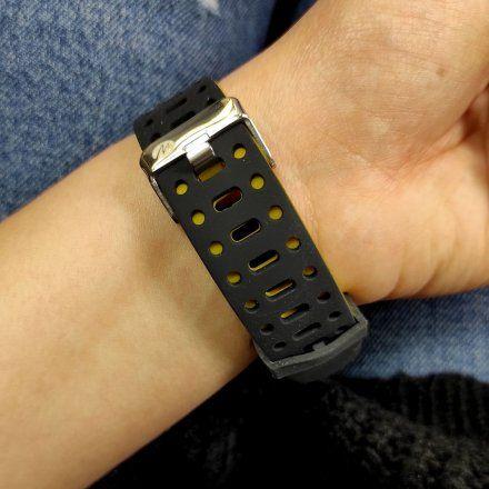 Czarno-żółty Smartwatch Marea B57002/2
