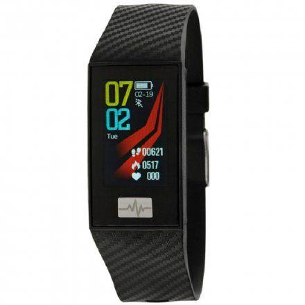 Czarna opaska sportowa Smartband Marea B57004/1
