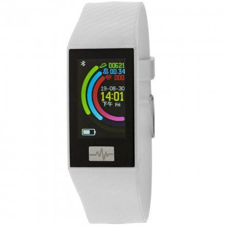 Biała opaska sportowa Smartband Marea B57004/3