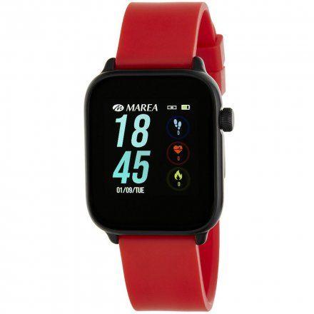 Czerwony Smartwatch Marea B59002/5