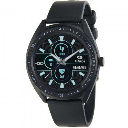 Czarny Smartwatch męski Marea B59003/1