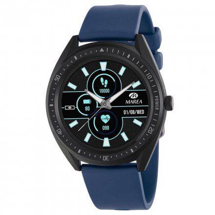 Granatowy Smartwatch męski Marea B59003/2