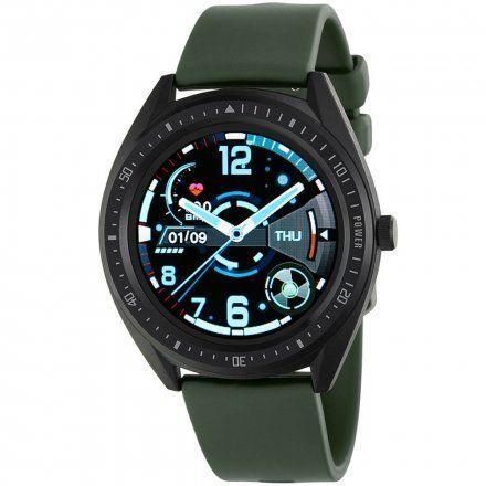 Zielony Smartwatch męski Marea B59003/3