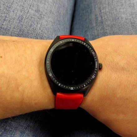 Czerwony Smartwatch męski Marea B59003/4