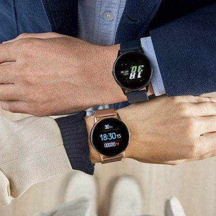 Biały Smartwatch Marea B58001/3 z dodatkowym paskiem