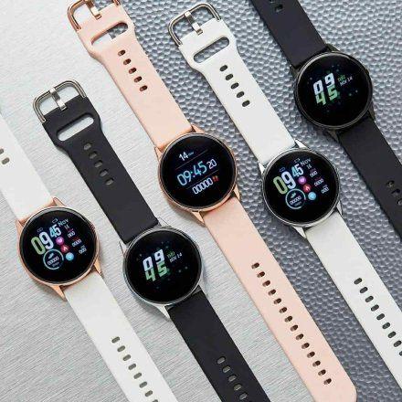 Złoty Smartwatch Marea B58001/5 z dodatkowym paskiem
