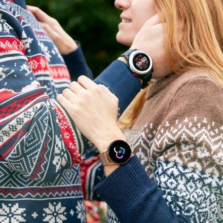 Srebrny Smartwatch Marea B58002/2 z dodatkowym paskiem
