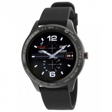 Czarny Smartwatch męski Marea B60001/1