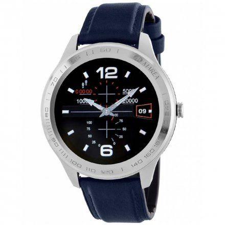 Srebrny Smartwatch męski Marea B60001/6