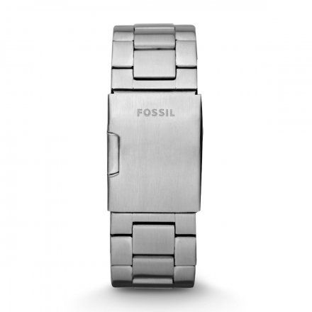 Srebrna bransoletka Fossil 24 mm Nate JR1353
