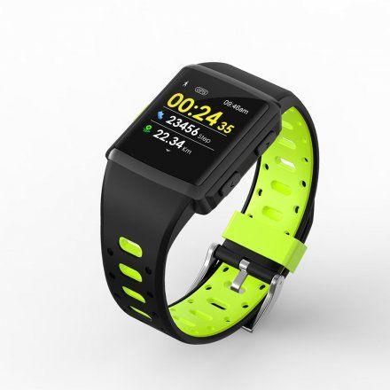 Sportowy Smartwatch Pacific 03 czarno-zielony