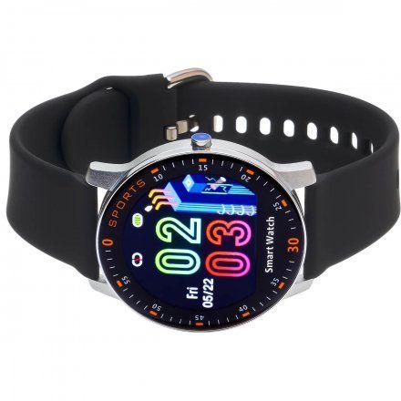 Smartwatch Garett Lady Lira srebrny