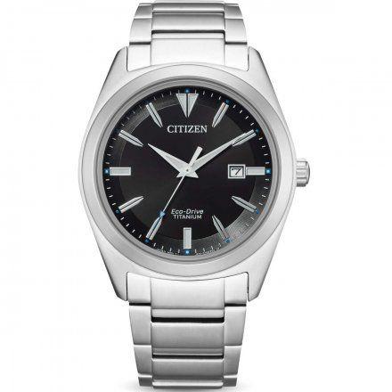 Citizen AW1640-83E Zegarek Męski na bransolecie Eco Drive Titanum