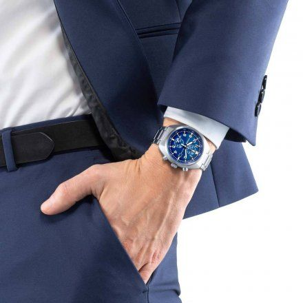 Citizen CA7040-85L Zegarek Męski na bransolecie Eco Drive Chrono