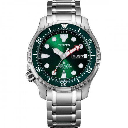Citizen NY0100-50XE Zegarek Męski na bransolecie Promaster Diver's Automatic