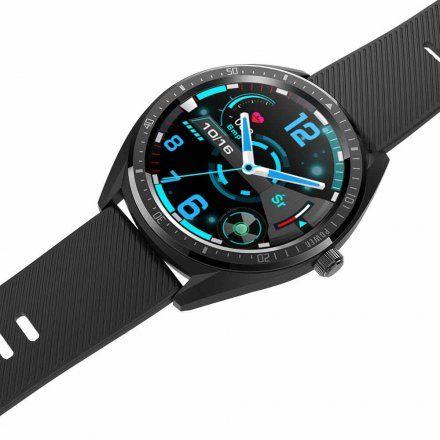 Czarny smartwatch męski Rubicon RNCE55BIBX05AX