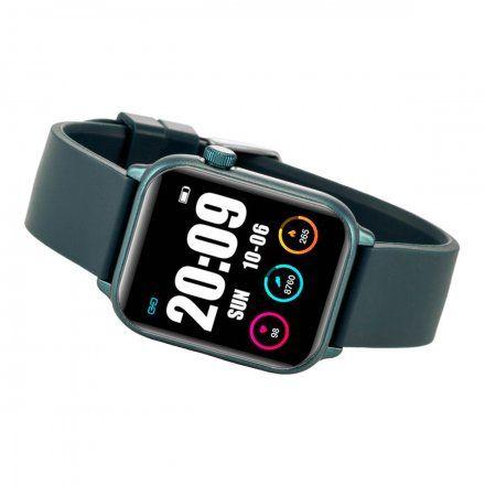 Granatowy smartwatch męski damski Rubicon RNCE56DIBX01AX
