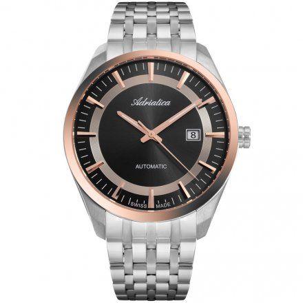 Zegarek Męski Adriatica na bransolecie Automat A8309.R116A