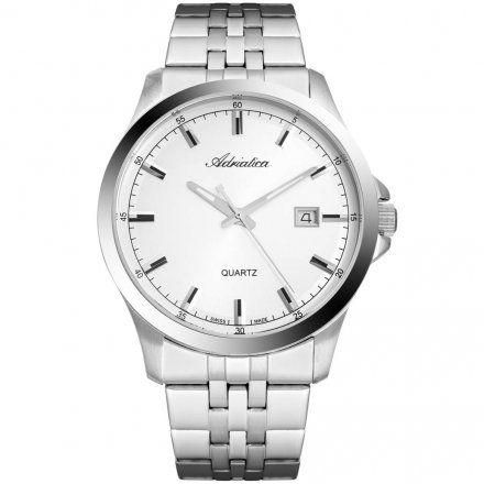 Zegarek Męski Adriatica na bransolecie A8304.5113QA - Zegarek Swiss Made