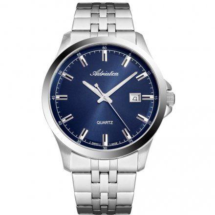 Zegarek Męski Adriatica na bransolecie A8304.5115QA - Zegarek Swiss Made