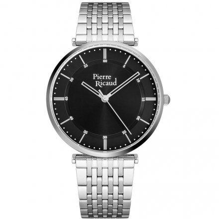 Pierre Ricaud P91038.5114Q Zegarek Srebrny Niemiecka Jakość