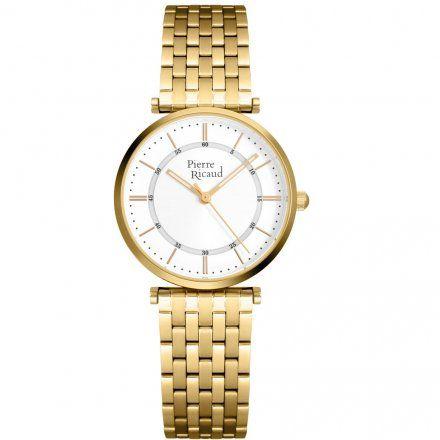 Pierre Ricaud P51038.1113Q Zegarek Damski Złoty Niemiecka Jakość