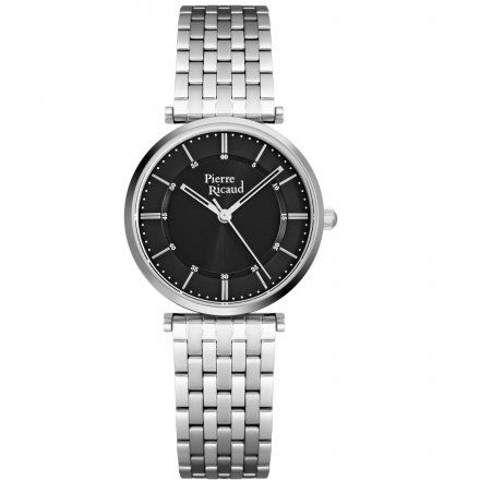 Pierre Ricaud P51038.5114Q Zegarek Damski Srebrny Niemiecka Jakość