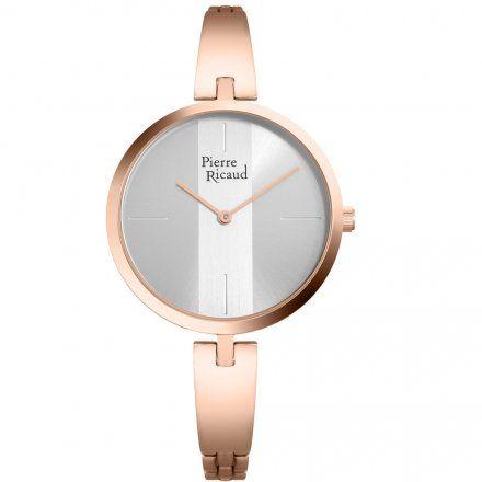 Pierre Ricaud P21036.5105Q Zegarek Różowozłoty damski Niemiecka Jakość