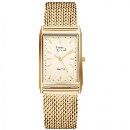 Pierre Ricaud P91061.1111Q Zegarek Złoty Niemiecka Jakość