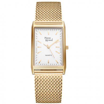 Pierre Ricaud P91061.1113Q Zegarek Złoty Niemiecka Jakość