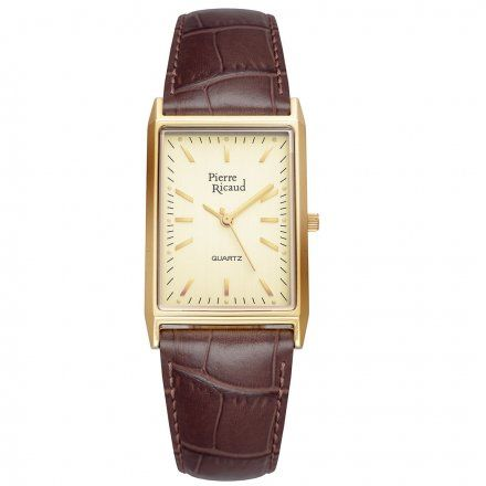 Pierre Ricaud P91061.1211Q Zegarek Złoty Niemiecka Jakość