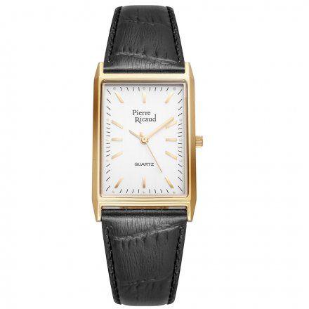 Pierre Ricaud P91061.1213Q Zegarek Złoty Niemiecka Jakość