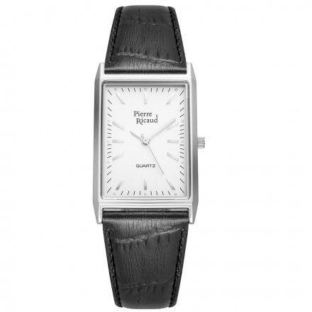 Pierre Ricaud P91061.5213Q Zegarek Srebrny Niemiecka Jakość