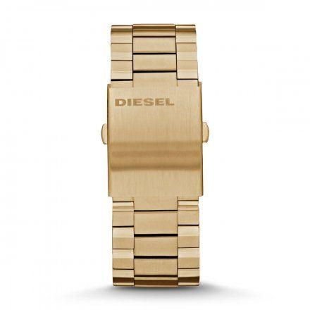 Złota bransoleta Diesel 26 mm Mega Chief DZ4360
