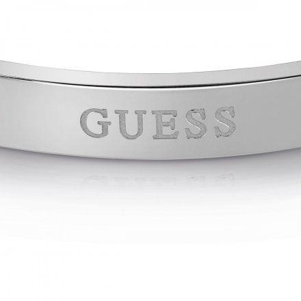 Biżuteria Guess męska bransoletka czarna UMB78014