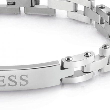 Biżuteria Guess męska bransoletka srebrna UMB78020