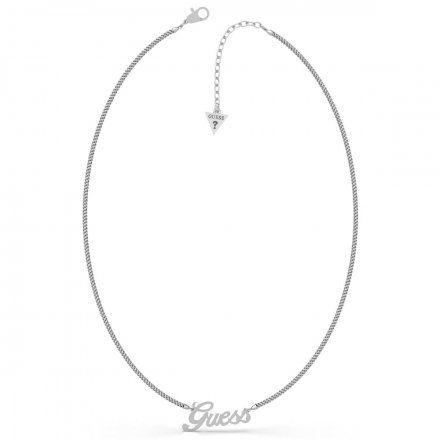 Biżuteria Guess naszyjnik srebrny UBN79076
