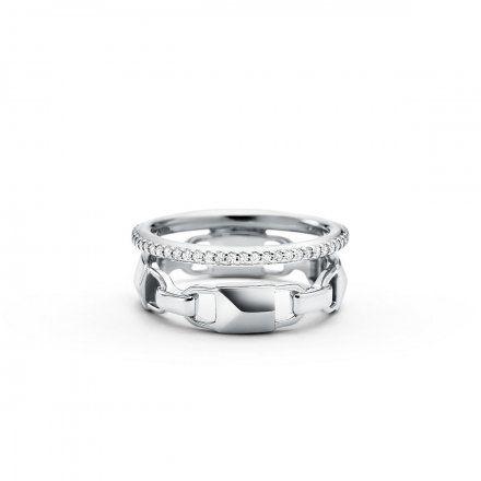 Biżuteria Michael Kors - Pierścionek MKC1025AN040 r. 17