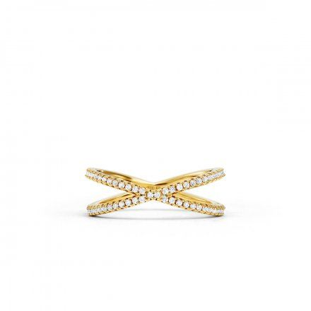 Biżuteria Michael Kors - Pierścionek MKC1112AN710 r.17
