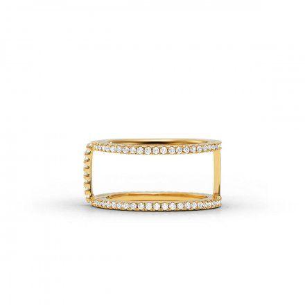 Biżuteria Michael Kors - Pierścionek MKC1113AN710 r.17