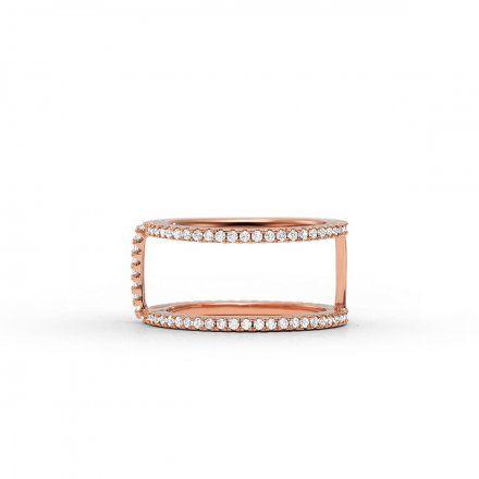 Biżuteria Michael Kors - Pierścionek MKC1113AN791 r.11