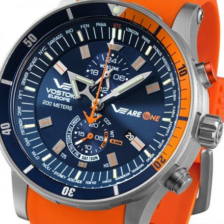 Zegarek Vostok Europe VEareONE YM8J-510H434 Expedition Everest Underground